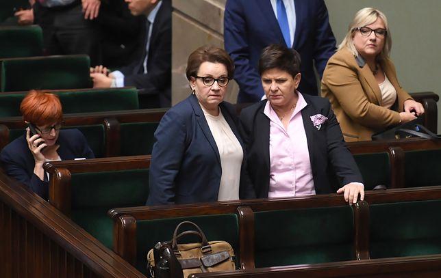 Nieoficjalne doniesienia ws. startu Szydło, Kempy i Zalewskiej pojawiły się w mediach już kilka dni temu