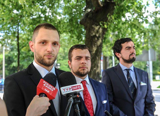 Od lewej: Bartosz Berk, Michał Urbaniak i Szymon Kasiński