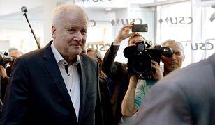 Minister Horst Seehofer zrezygnował ze stanowiska