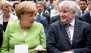Angela Merkel i Horst Seehofer oddalili widmo politycznego rozwodu