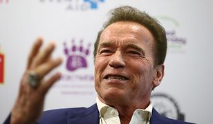 Arnold Schwarzenegger podczas konferencji w The Melbourne Convention and Exhibition, marzec 2018 r.