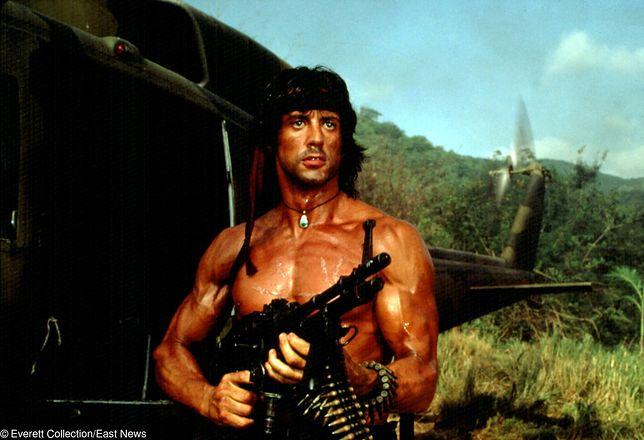 Sylvester Stallone jako Rambo