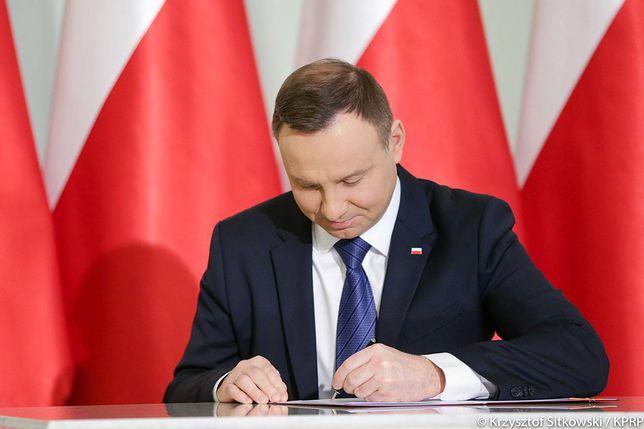 Prof. Jan Zimmerman, promotor Andrzeja Dudy dla WP: Grozi mu Trybunał Stanu, nie tylko za ułaskawienie Kamińskiego