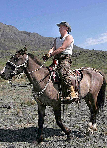 Putin jak Herakles. 12 prac prezydenta Rosji - zdjęcia