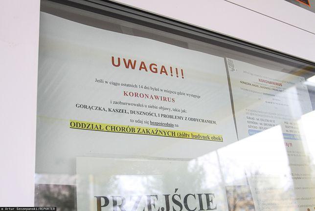 Koronawirus w Polsce. Nowe informacje z ministerstwa zdrowia.