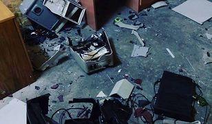 Tak wygląda pokój po demolce.