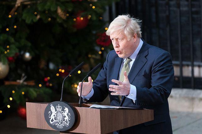 Premier Wielkiej Brytanii Boris Johnson (Partia Konserwatywna)