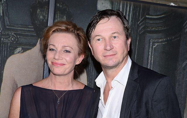 Piotr Cyrwus i jego żona Maja Barełkowska przetrwali trudny czas
