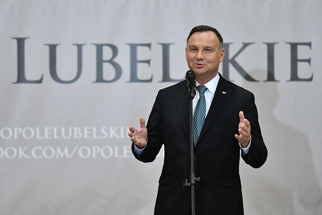 """Prezydent Andrzej Duda broni reformy. """"Niektórym sędziom wydaje się, że są bogami"""""""