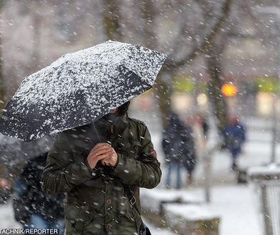Silny wiatr i śnieżyce dały się we znaki Polakom