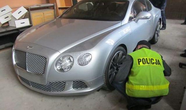 Policja odnalazła trzy skradzione w Niemczech Bentleye