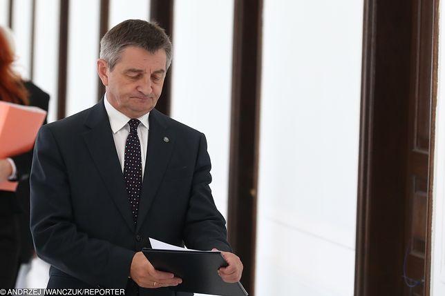 Marek Kuchciński zrezygnował z funkcji marszałka Sejmu 9 sierpnia br.