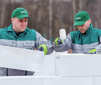 Murowanie ścian z betonu komórkowego