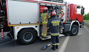 Poważny wypadek na DK 10 w Przyłubiu