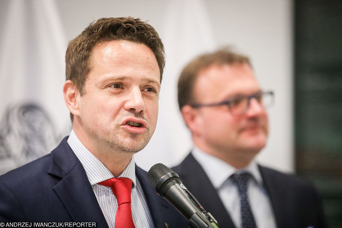 Trzaskowski przedstawił plany na przyszły rok