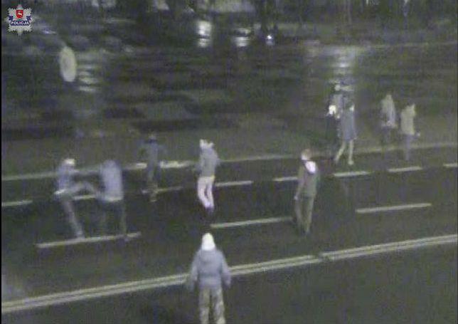 Bójka studentów w Lublinie. Wpadli przez kamery monitoringu