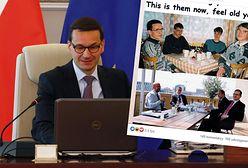 """Mateusz Morawiecki i słynne zdjęcie z memów. """"Nie wszyscy wiedzą"""""""