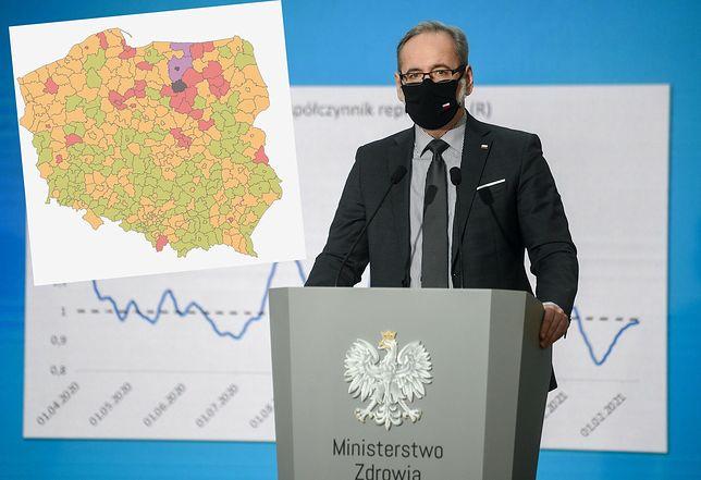 Koronawirus. Minister zdrowia dostrzegł zagrożenie w zachowaniu turystów z Zakopanego. Jednak to inny region przoduje w nowych zakażeniach