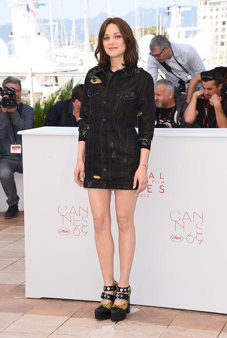 Rockowa Marion Cotillard w Cannes