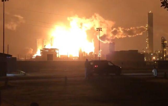 Gigantyczna eksplozja zerwała z łóżek mieszkańców Port Neches