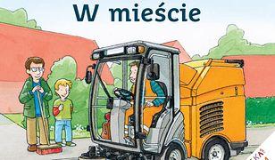 Mądra Mysz. Maszyny i pojazdy. W mieście