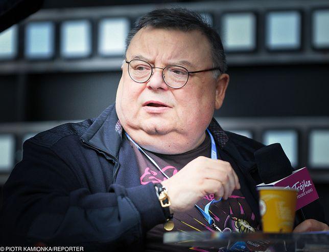 Wojciech Mann podczas prowadzenia audycji w radiu wspomniał o premierze