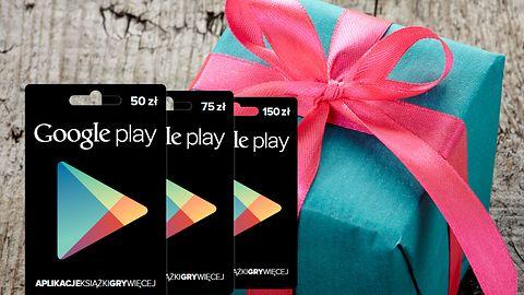 Karty podarunkowe do Google Play już w Polsce