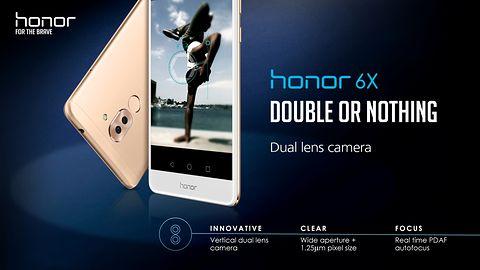 Honor 6X – smartfon dla milenialsów z dwoma aparatami i... Androidem 6.0 #CES2017