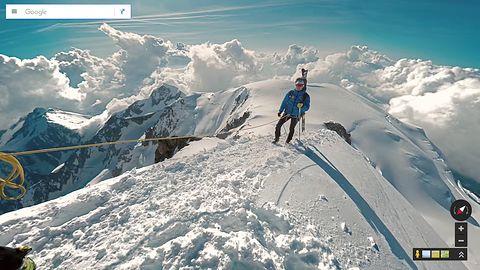 Z Mapami Google można już zdobyć najwyższy szczyt Europy