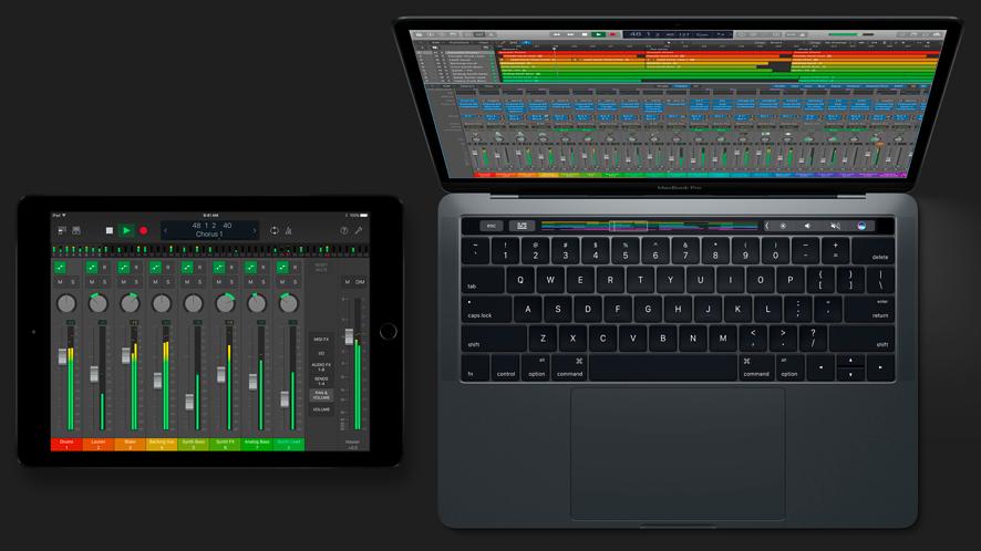 Nowy Logic Pro X i mobilny GarageBand mogą pracować na jednym projekcie