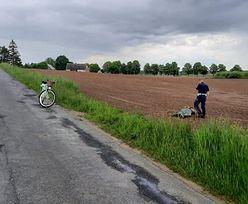 Chełmżyca. Policjant na rowerze dogonił... motocyklistę