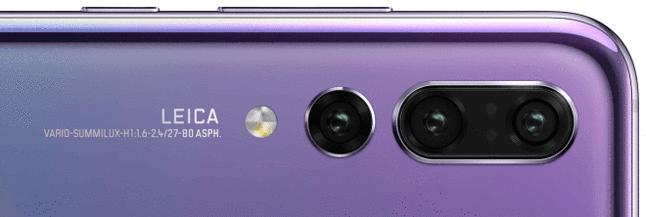 Sygnowany logo Leica aparat ma oferować różne przysłony w każdym z obiektywów, optyczny zoom i wykorzystywać soczewkę asferyczną. Źródło: WinFuture