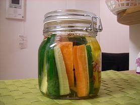 Ogórki konserwowe z marchewką
