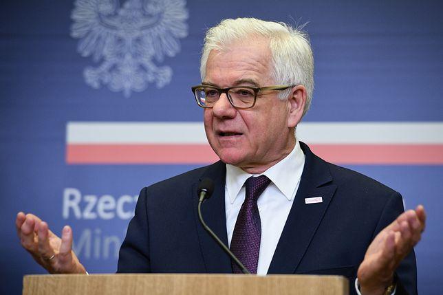 Jacek Czaputowicz, minister spraw zagranicznych RP
