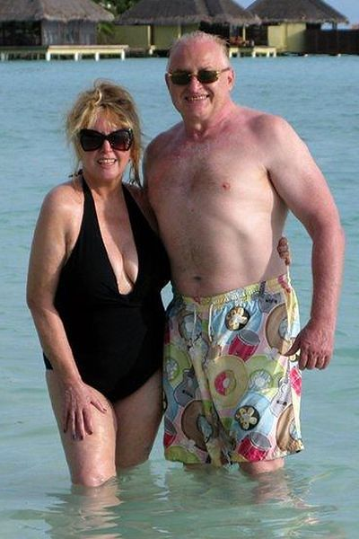 Maryla Rodowicz z mężem