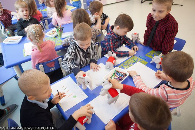 Warszawskie przedszkole nr 328 na Bielanach
