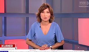 Zabawna wpadka prezenterki TVP. Internauci płaczą ze śmiechu
