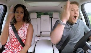 Michelle Obama, James Corden