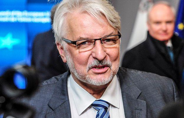 Szef MSZ Witold Waszczykowski o sprawie Przyłębskiego: będziemy reagować