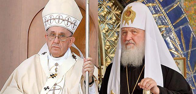 Prasa rosyjska: spotkanie patriarchy Cyryla z papieżem Franciszkiem potrzebne bardziej Rosji niż Cerkwi