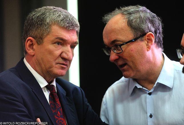 Jerzy Wenderlich i Włodzimierz Czarzasty