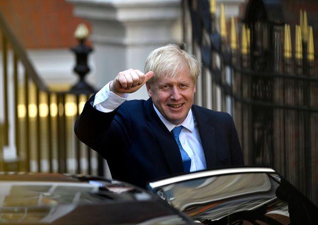 Nowy premier Wielkiej Brytanii Boris Johnson
