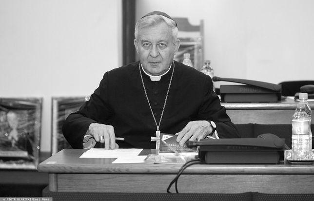 Abp Juliusz Paetz zmarł w wieku 84 lat