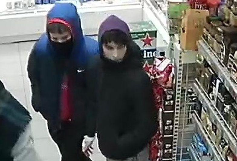 Ukradli puszkę WOŚP. Policja poszukuje dwóch młodych mężczyzn