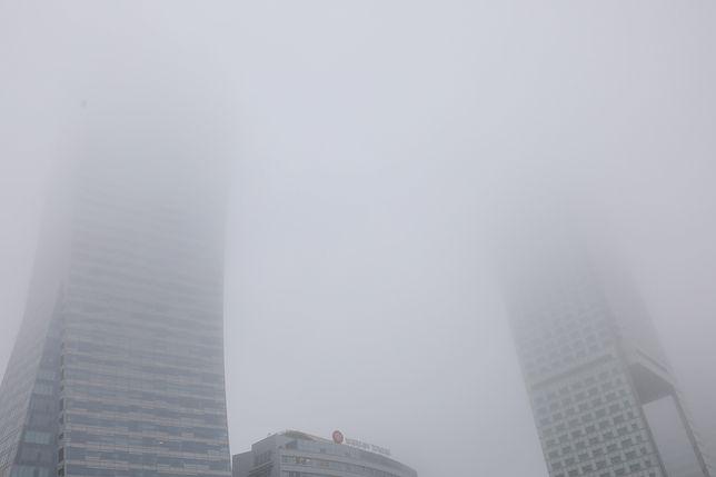 Warszawa. Smog i pomiary jakości powietrza 28 stycznia 2020 r.