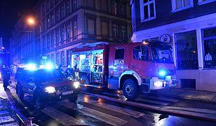 Wypadki. Pogotowie ratunkowe i strażacy mieli w sylwestra pełne ręce roboty.