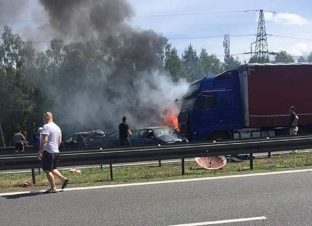 Tragedia pod Szczecinem. Rannym udzielana jest pomoc