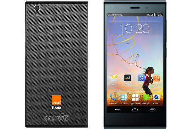 Orange Rono - niedrogi smartfon produkcji ZTE