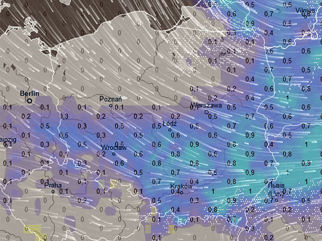 Pogoda na sylwestra i Nowy Rok. Nowa prognoza