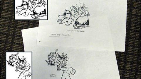 Oryginalne rysunki Vault Boya z Fallouta 2 za 28 dolarów